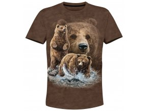tricko s medvedy