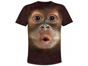 tricko orangutánek 3d