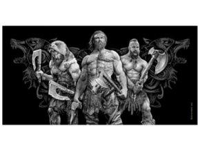 Osuska 140x70 s potiskem Horda vikingu