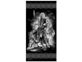 Osuska 140x70 s potiskem Odin
