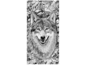 Osuska 140x70 s potiskem Zivot vlku