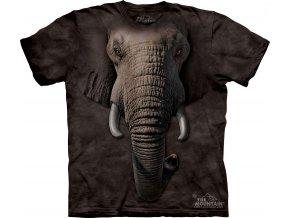 tričko-slon-3d-batikované-potisk-mountain