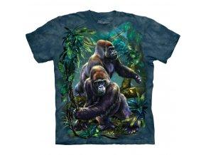 tričko s gorilou