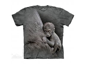dětské tričko-gorila-opice-potisk-mountain