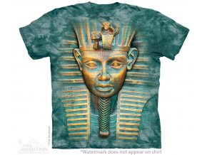 tričko-tutanchamon-3d-batikované-potisk-faraon