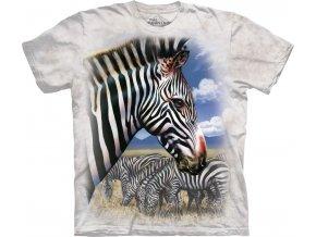 tričko se zebrou