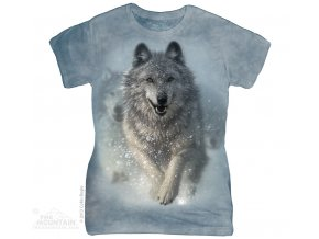 dámské tričko s vlkem