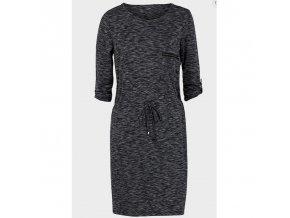 dámské teplákové, šaty, tmavě šedé, levné