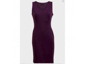 dámské, levné, šaty, fialové