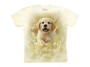 dětské tričko s pejskem