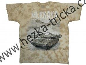 tričko, military, potisk, izraelský tank, Merkava, Legend