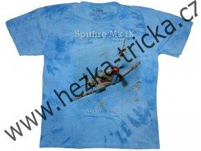 tričko, military, potisk, anglická stíhačka Spitfire, 1943, II světová válka