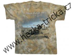 Military tričko s potiskem německých tanků a letadel z roku 1943