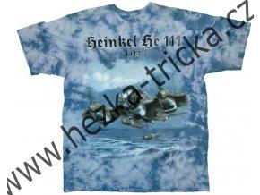 tričko, military, potisk, bombardér Heinkel, HE111, Legend