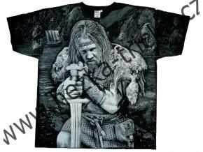 tričko s vikingem