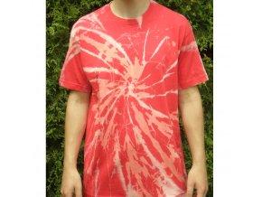 Ručně batikované bavlněné tričko Nova reflex vel. L