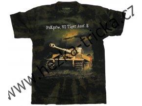 tričko, military, potisk, německý tank TIger, 2 světová válka, Legend