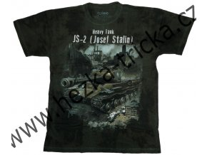 tričko, military, potisk, tank JS2, Josef Stalin, Legend