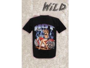 Tričko Wild Hot rider velikost M a L