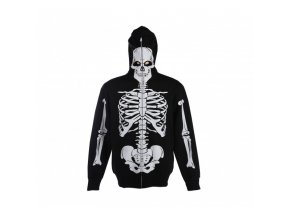 mask jacket black skeleton with 19,90 4