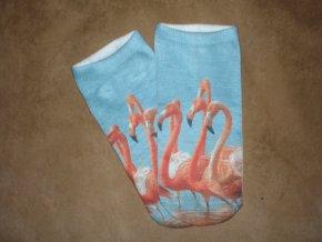 Ponožky Plameňáci