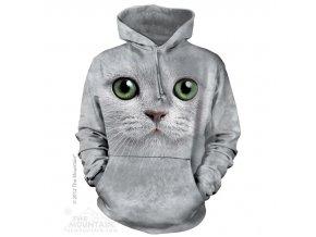 3d mikina s potiskem kočky