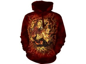 ohnivá mikina