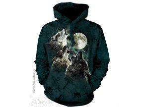 mikina s vlky