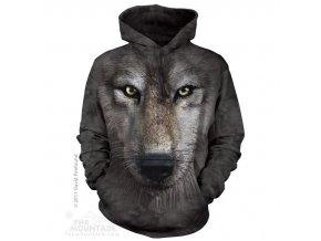 3d mikina s potiskem vlka