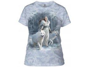 dámské tričko-batikované-bavlněné-potisk-vlk-královna