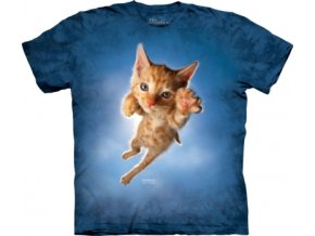 tričko s kotětem