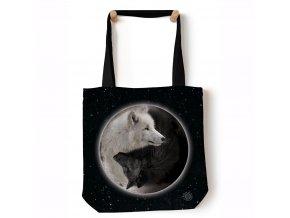 taška s vlky jin jang