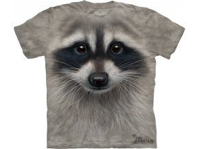 tričko, mýval, 3d, potisk, dětské, mountain