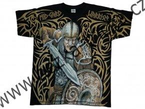 tričko, potisk, viking, Midgard, meč, Thorovo kladivo