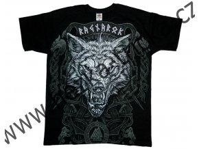 tričko s vlkem