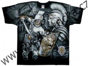 MMA tričko s celoplošným potiskem Gladiátora
