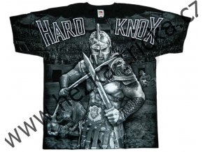 MMA tričko s celoplošným potiskem gladiátora v aréně