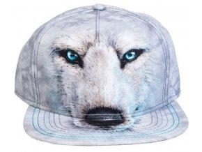 3517 bílý vlk 3d 1