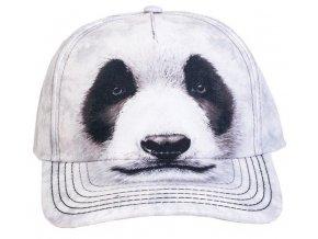 Basebolka Medvěd Panda 3D - kšiltovka