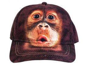 Basebolka Mladý orangutan 3D - kšiltovka