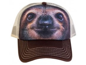Kšiltovka s 3D potiskem lenochoda