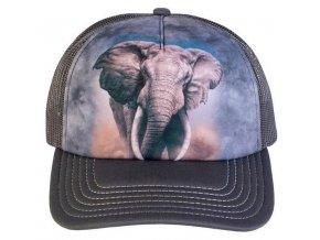 Kšiltovka s potiskem slona