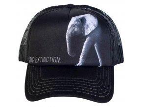 Kšiltovka s potiskem ohroženého slona
