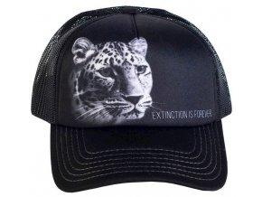Kšiltovka s potiskem ohroženého leoparda