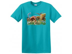 dětské, tričko, potisk, levné, dinosauři, jurský park