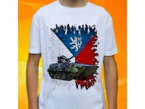 Dětské a pánské tričko s potiskem BVP Čechy