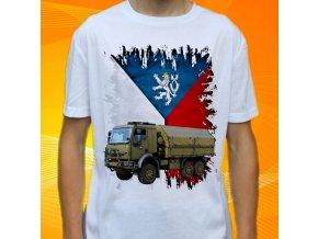 tričko, dětské, pánské, potisk, vojenské, tatra