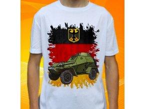 tričko, dětské, pánské, potisk, vojenské, ba64