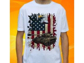 tričko, dětské, pánské, potisk, military, tank hellcat