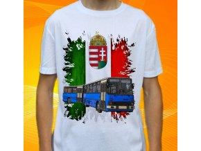 tričko, dětské, pánské, potisk, autobus, ikarus
